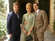 Micaela Ramazzoti, Flavio Parenti e Christian Adorno Bard
