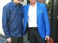 Zhang Bo e Christian Adorno Bard