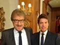 Gigi Proietti e Christian Adorno Bard