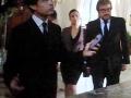 Gigi Proietti, Valeria Graci e Christian Adorno Bard